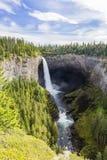 Helmcken spadki, studnia prowincjonału Szary park, BC, Kanada Zdjęcie Royalty Free