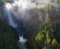 Helmcken-Wasserfälle Lizenzfreies Stockbild