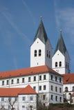 Helme, die Kathedrale, Deutschland freising sind Lizenzfreie Stockfotos