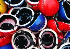 Helmen royalty-vrije stock foto