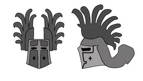 Helmet. Illustration of ancient helmet Royalty Free Stock Photo