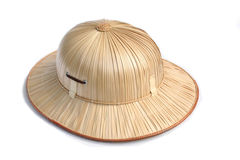Helmet. Pith helmet Stock Photos