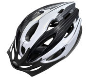 Helmet bike Stock Image
