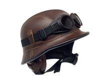 Helmet of the biker Royalty Free Stock Photography