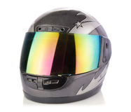 Helmet for biker Stock Photo
