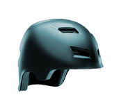 Helmet for byciclist isolated Stock Photo