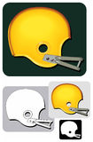 Helmet_classic Royalty-vrije Stock Foto