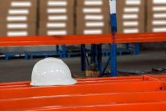 Helmet. CMA Logistics helmet on the shelf Stock Photo
