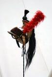 Helmet of cuirassier, Naponeon Bonaparte`s army member. Stock Image