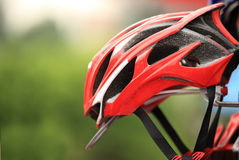 Helmet for cycling Royalty Free Stock Photography