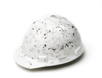 Helmet dirty work Royalty Free Stock Images