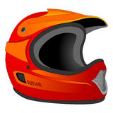 Helmet drawing Stock Photography