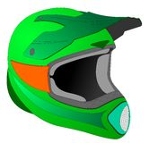 Helmet drawing Royalty Free Stock Photos