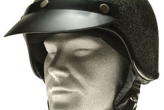 Helmet on a dummy Royalty Free Stock Photos