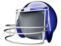 Helmet for football Stock Images