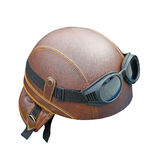 Helmet with goggles Stock Images
