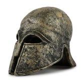 Helmet Greek. On white background Royalty Free Stock Image
