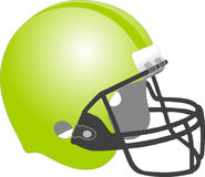 Helmet, Green, Yellow, Protective Equipment In Gridiron Football Royalty Free Stock Photography