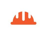 Helmet icon design Stock Photography