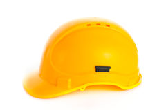 Helmet isolated on white background construction site Royalty Free Stock Photos