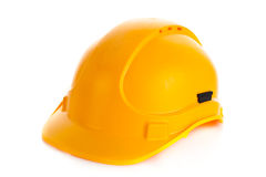 Helmet isolated on white background construction site Stock Image