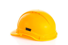 Helmet isolated on white background construction site security safety Stock Image