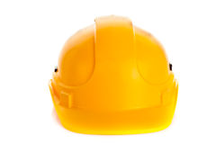 Helmet isolated on white background construction site security safety Royalty Free Stock Photography