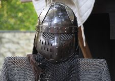 Helmet of the knigth Royalty Free Stock Images