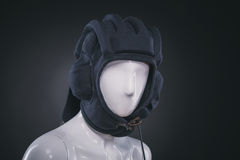 Helmet on mannequin Royalty Free Stock Images