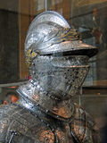 Helmet, medieval tournament armor Stock Images