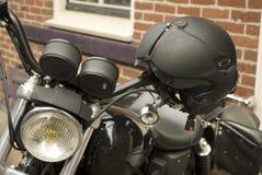 Helmet for motorbike Royalty Free Stock Photos