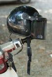 Helmet motorcycle Royalty Free Stock Photos