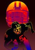 helmet n football  Stock Photos