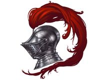 Free Helmet Of The Medieval Knight. Royalty Free Stock Photo - 136064065