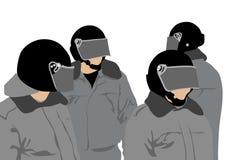 Helmet of police Royalty Free Stock Photo
