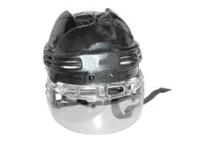The helmet of referee Stock Photography