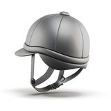 Helmet for riding. 3d render image. Royalty Free Stock Photography