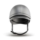 Helmet for riding . Front view. 3d rendering Stock Images