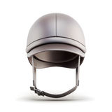 Helmet for riding  on white background. 3d rendering Stock Photography