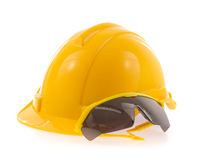 Helmet and Safety glasses Royalty Free Stock Photo