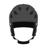 Helmet for ski, snowboarding, extreme sports, bicycle in flat style. Royalty Free Stock Image