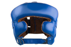 Helmet to protect the head in boxing Royalty Free Stock Image