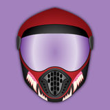 Protective helmet for various extreme sports Royalty Free Stock Photos