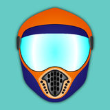 Protective helmet for various extreme sports Stock Photography