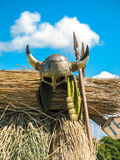 Viking's Helmet Royalty Free Stock Photos