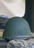 Helmet war world 2 Royalty Free Stock Photo