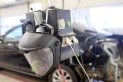 Helmet welder Stock Photo