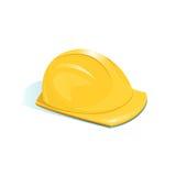 Helmet of worker, vector illustration Royalty Free Stock Image