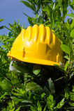 Helmet worker Stock Photos