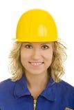 helmet yellow Στοκ φωτογραφίες με δικαίωμα ελεύθερης χρήσης